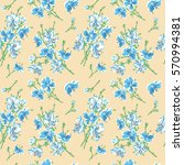 seamless pattern   bouquet  ... | Shutterstock .eps vector #570994381