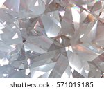 layered texture triangular... | Shutterstock . vector #571019185