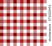 red gingham tartan plaid