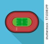 running stadium | Shutterstock .eps vector #571038199