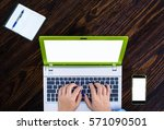 business people working with...   Shutterstock . vector #571090501