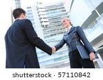 pretty blonde caucasian... | Shutterstock . vector #57110842