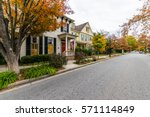 downtown easton during high... | Shutterstock . vector #571114849