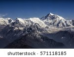Everest Peak And Himalaya...