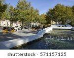 seville  spain   november 23 ... | Shutterstock . vector #571157125