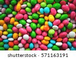 Colorful Candy Dragee Pattern.