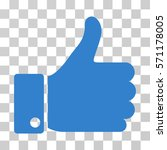 thumb up icon. vector... | Shutterstock .eps vector #571178005