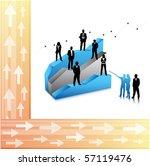 business people | Shutterstock .eps vector #57119476