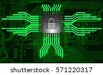 the concept of electronic... | Shutterstock . vector #571220317