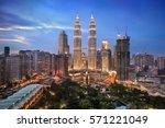 Twilight Over Kuala Lumpur...