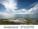 seascape from a helsinki shore...   Shutterstock . vector #571225795
