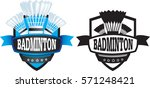 shield or logo badge to... | Shutterstock .eps vector #571248421
