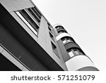modern apartment building....   Shutterstock . vector #571251079