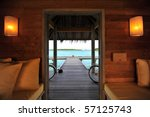 maldives resort | Shutterstock . vector #57125743