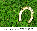 traditional symbols for patrick'... | Shutterstock . vector #571263325