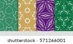 set of linear geometric...   Shutterstock .eps vector #571266001