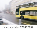 motion blur image of yellow...   Shutterstock . vector #571302154