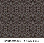 ornamental seamless pattern.... | Shutterstock .eps vector #571321111