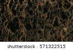 beautiful closeup black marble... | Shutterstock . vector #571322515