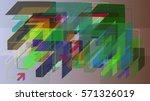 arrows idea art   Shutterstock .eps vector #571326019