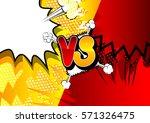vector decorative background...   Shutterstock .eps vector #571326475