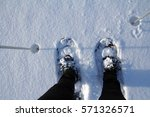 Wintersport   A Woman With Sno...