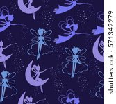 seamless pattern with fairy...