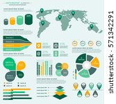 infographics elements... | Shutterstock .eps vector #571342291