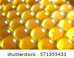 vitamins close up in a row | Shutterstock . vector #571355431