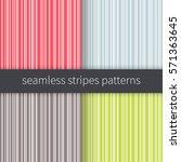 line backgrounds set. red blue... | Shutterstock .eps vector #571363645