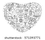 big line icons set for...   Shutterstock .eps vector #571393771