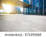 windows of skyscraper business... | Shutterstock . vector #571395085