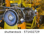 installation and heavy lifting... | Shutterstock . vector #571432729