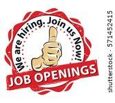 job openings. we are hiring ... | Shutterstock .eps vector #571452415
