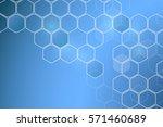 chemistry 3d model  the... | Shutterstock .eps vector #571460689