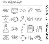 big set of symbols of... | Shutterstock .eps vector #571504729