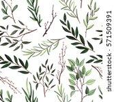 seamless pattern of watercolor...   Shutterstock . vector #571509391