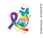 zero discrimination day | Shutterstock .eps vector #571531975