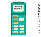vector illustration of phone... | Shutterstock .eps vector #571538335