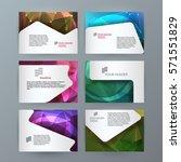 business templates for... | Shutterstock .eps vector #571551829