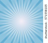 abstract soft blue rays...   Shutterstock .eps vector #571558105