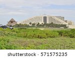 cancun  mexico   4 january 2017 ...   Shutterstock . vector #571575235