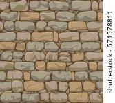 brick wall seamless pattern.... | Shutterstock .eps vector #571578811