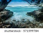 playa blanca  rafael freyre ... | Shutterstock . vector #571599784