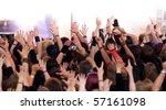crowd at concert | Shutterstock . vector #57161098