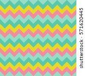 chevron zigzag pattern seamless ... | Shutterstock .eps vector #571620445