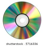 Compact Disk Surface Isolated...