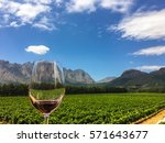 franschhoek wine tasting in the ... | Shutterstock . vector #571643677