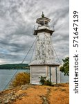 Lighthouse In Hastholmen ...