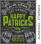 Happy St. Patrick Day Poster O...